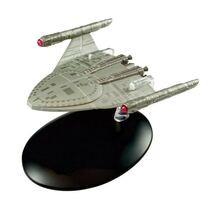 Emmette-type Starship SS Emmette, STAR TREK: Enterprise, w/Magazine