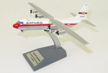 Saturn Airways Lockheed L-100-30 Hercules (L-382G) N15ST With Stand