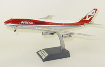 Avianca Boeing 747-100 HK-2000 With Stand