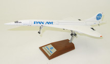 Pan Am Concorde N528PA With Stand