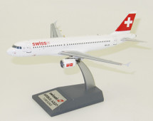 Swiss International Air Lines Airbus A320-200 HB-IJS With Stand