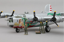 """B-24 """"The Dragon and His Tail"""" 43rd gp, 64th Sqn. Pacific Theatre, WWII Display Model"""