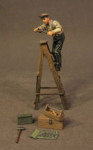 German Mechanic on Ladder, Knights of the Skies Collection (6pcs)