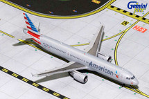 American A321 N187US Gemini Diecast Display Model