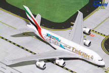 Emirates Airbus A380-800 Real Madrid A6-EUG Gemini Diecast Display Model