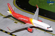 VietJet A320-200(S) VN-A671 Gemini Diecast Display Model