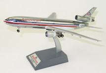 American Airlines DC-10-30 N144AA Polished With Stand