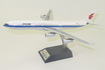 Air China Airbus A340-300 B-2390 With Stand