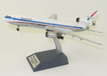 "United Airlines DC-10-10 N1816U ""DC10 Friend Ship"" Polished With Stand"
