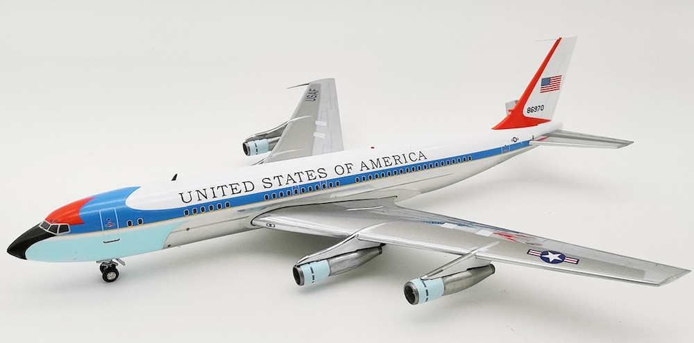 Usa Air Force Boeing Vc 137b 707 153b 58 6970 With Stand 1 200
