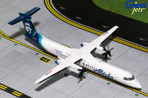 Alaska DASH 8-Q400 (New Livery) N438QX Gemini Diecast Display Model