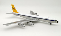 Condor Boeing 707-430 D-ABOC Polished With Stand