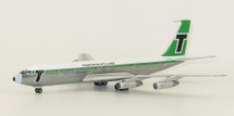 Transavia Holland Boeing 707-300 PH-TVK With Stand