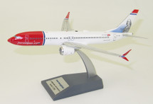 Norwegian Air Shuttle Boeing 737-8 Max EI-FYD With Stand