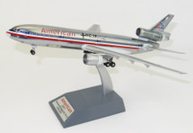 American Airlines DC-10-10 N102AA Polished With Stand