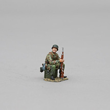 Fallschirmjager Sitting, WWII