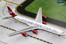 Virgin Atlantic A340-600, G-VNAP Gemini Diecast Display Model
