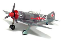 La-7 Soviet Air Force 9 GvIAP, White 24, Amet-khan
