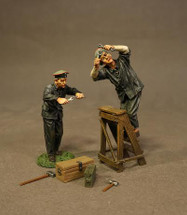 Two German Mechanics WWI, six pieces
