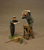 Two German Mechanics WWI, six pieces