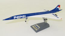 Air France/Pepsi Aerospatiale-British Aerospace Concorde 101 F-BTSD With Stand