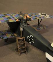 Ltn. Franz Ray, WWI Knights of the Skies, (2pcs)