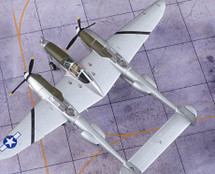 P-38L Lightning USAAF 8th FG, 36th FS, L. V. Bellusci, 1945