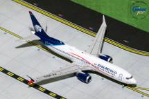 Aeromexico B737 MAX 8, XA-MAG Gemini Diecast Display Model