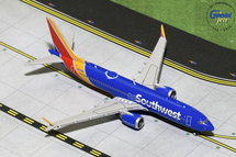 Southwest Airlines B737 MAX 8, N8706W Gemini Diecast Display Model