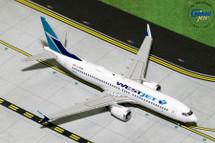 WestJet Airlines B737 MAX 8, C-FRAX Gemini Diecast Display Model