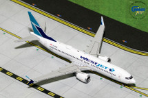 WestJet Airlines B737 MAX 8, C-FRAX Gemini Diecast Display Model