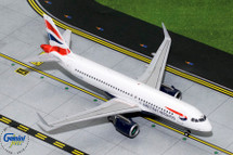 British Airways Airbus A320neo, G-TTNA Gemini Diecast Display Model