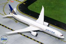 United Airlines B787-10 Dreamliner, N78791 Gemini Diecast Display Model