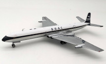 BOAC De Havilland DH-106 Comet 4 G-APDC with Stand