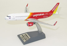 Thai VietJet Air Airbus A320-200 HS-VKC With Stand