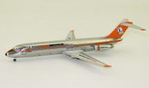 AeroMexico McDonnell Douglas DC-9-32 XA-DEK Polished With Stand