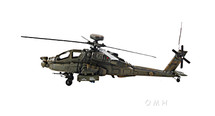 AH-64 Apache 1976 Helicopter by Old-Modern Handicrafts