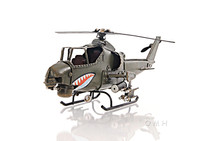 AH-1G Cobra 1960s Helicopter by Old-Modern Handicrafts