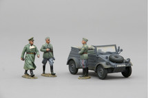 German Kubelwagen Early War Grey Color Scheme