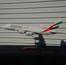 Emirates A380-800 A380-800 A6-EUF (Resin) Gemini Diecast Display Model