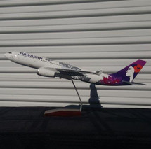 Hawaiian A330-200 New Livery (Resin) Gemini Diecast Display Model