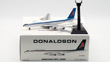 Donaldson International Boeing 707-300 G-BAEL With Stand