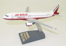 Air Berlin Airbus A320-200 D-ABDA With Stand