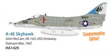 A-4E Skyhawk John McCain, VA-163, USS Oriskany, Vietnam War, Commemorative Edition