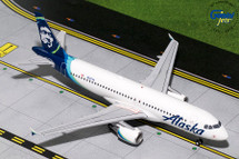 Alaska Airlines A320-200, N625VA Gemini Diecast Display Model