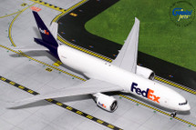 Federal Express 777-200F, N886FD Gemini Diecast Display Model