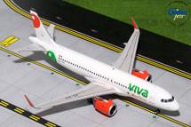 VivaAerobus A320neo, XA-VIV Gemini Diecast Display Model