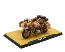 BMW R75 Motorcycle with Sidecar Deutsches Afrika Korps, German Army, World War II