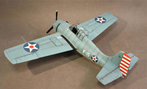 "F4F-3 Wildcat, `White F-15`, Lt. Edward Henry ""Butch"" O`Hare, VF-3 USS Lexington, WWII February 1942 Display Model"