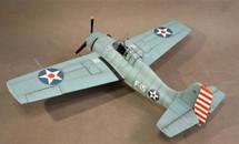 "F4F-3 Wildcat, `White F-15`, Lt. Edward Henry ""Butch"" O`Hare, VF-3 USS Lexington, WWII February 1942 Display Model"